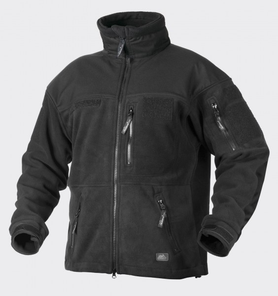 Polish Infantry Jacket - Fleece - Black