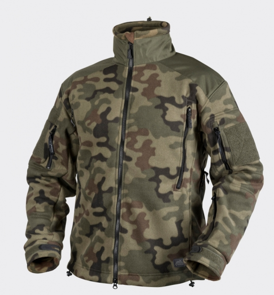 Liberty Double Fleece Jacke Farbe: Woodland