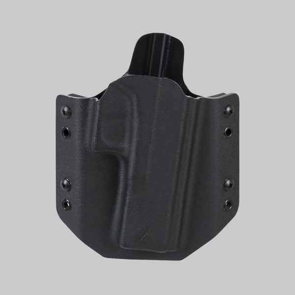 G17 OWB NO LIGHT HOLSTER (STRAIGHT LOOPS)