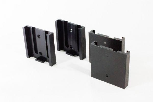Halterung Kunststoff -schwarz-