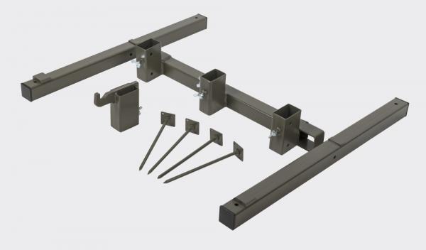 Targethalter - Halter für Holzlatten auch für den eTarget L-Rahmen