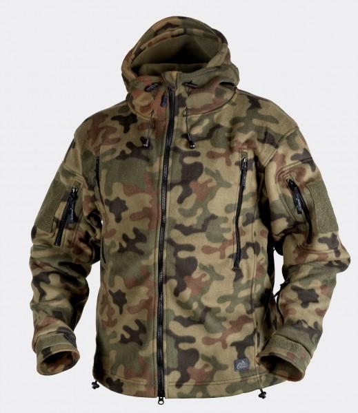Patriot Jacket - Double Fleece - PL Woodland