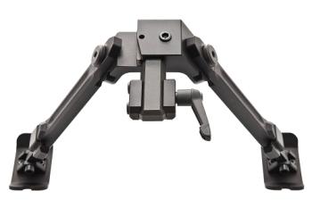 Fortmeier Bipod Zweibein H184 12 Uhr mit Pica-Adapter