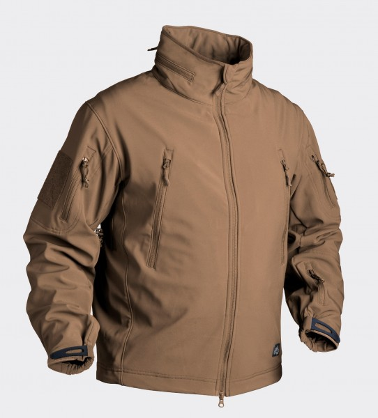 Gunfighter Jacke - Shark Skin Windblocker - Coyote