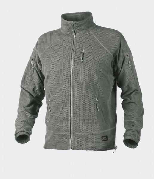Alpha Tactical Jacket - Grid Fleece - Foliage Green