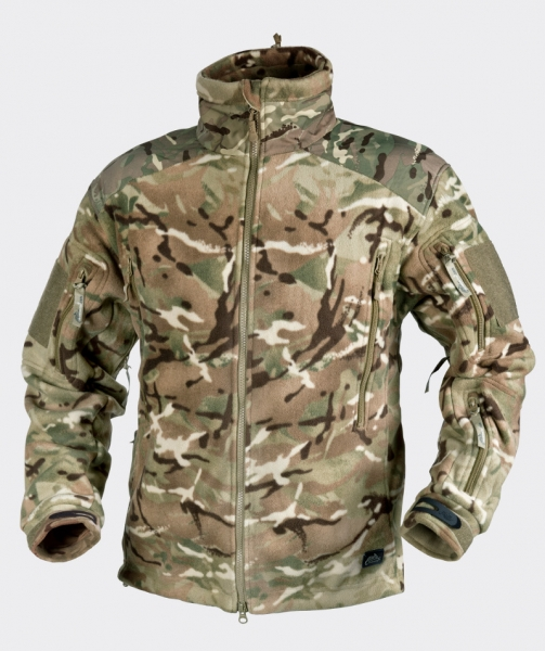 Liberty Double Fleece Jacke Farbe: MP Camo