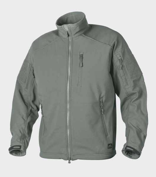DELTA TACTICAL Softshell Jacket - Shark Skin - Foliage Green