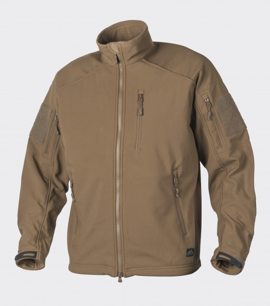 DELTA TACTICAL Softshell Jacket - Shark Skin - Coyote