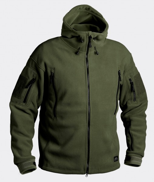 Patriot Jacket - Double Fleece - Olive Green
