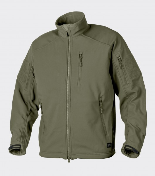 DELTA TACTICAL Softshell Jacket - Shark Skin - Olivgrün