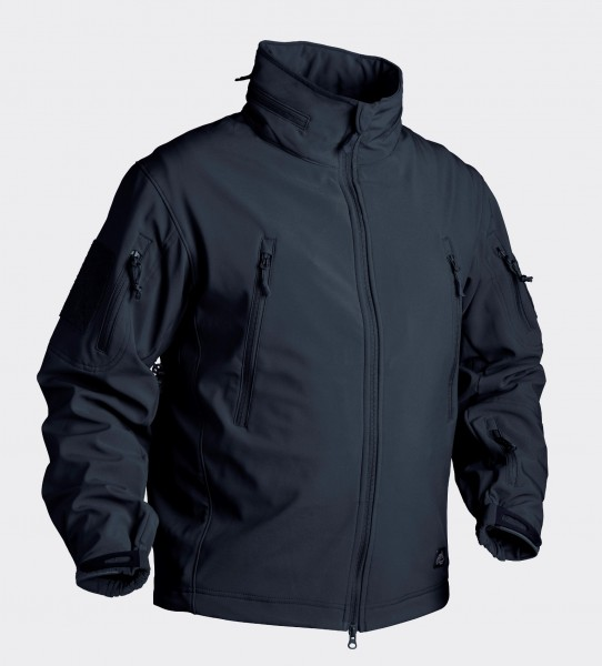 Gunfighter Jacke - Shark Skin Windblocker - Navy Blue