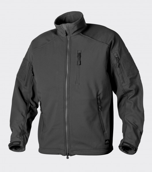 DELTA TACTICAL Softshell Jacket - Shark Skin - Schwarz