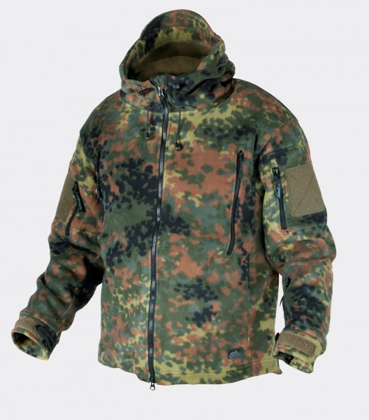 Patriot Jacket - Double Fleece - Flecktarn