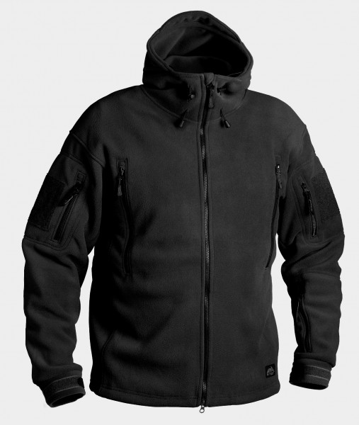 Patriot Jacket - Double Fleece - Black