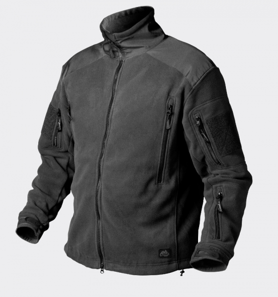 Liberty Double Fleece Jacke Farbe: Schwarz