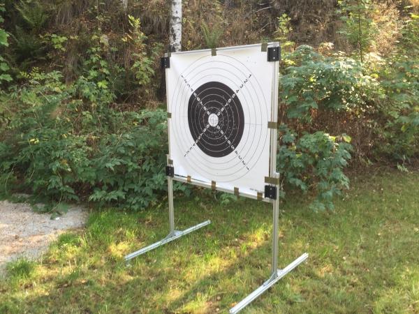 Targethalter eTarget Aluminium Full-1000